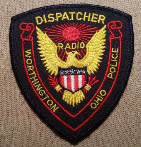 OH Worthington  Ohio Dispatcher Police Patch