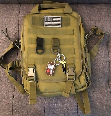 Tactical MOLLE Velcro Attachment Straps For Backpacks (set of -