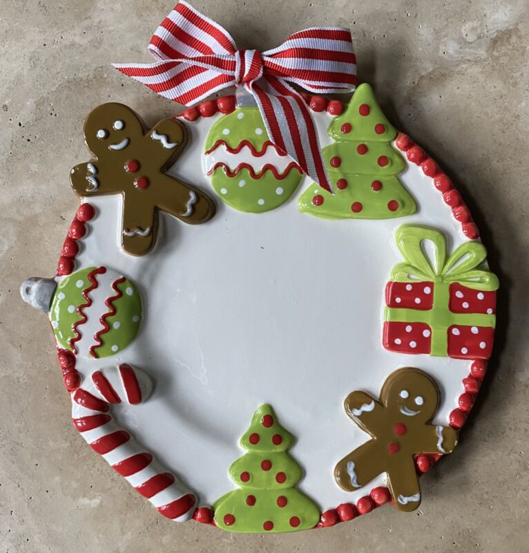 Mud Pie Christmas Serving Dish