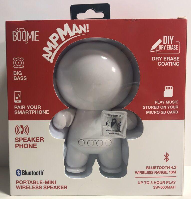 Wireless Bluetooth Speaker Portable BOOMIE AmpMan DIY Dry Erase White