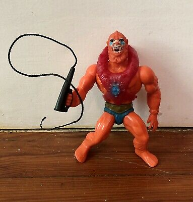 Vintage 1981 Beast Man Masters of the Universe Action Figure - Soft Head