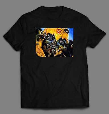 TRANSFORMERS BUMBLE BEE MOVIE ART **Shirt *FULL FRONT OF SHIRT* (Bumble Bee T Shirts)