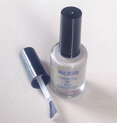 Silver Conductive Ink Paste Paint Pcb Membrane Repair Conductive Paint 10 Grams