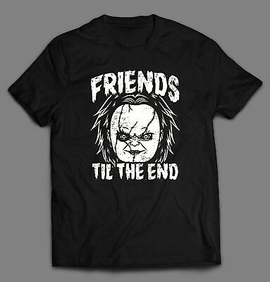 The Halloween Play (CHILD'S PLAY CHUCKIE *FRIENDS TIL THE END* Mens HALLOWEEN T-Shirt *MANY)
