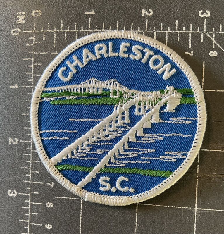 Charleston South Carolina Patch SC S.C. Arthur Ravenel Jr. Bridge Cooper River
