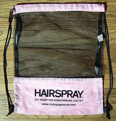 HAIRSPRAY musical pink promo backpack Zac Efron Queen Latifah John Travolta