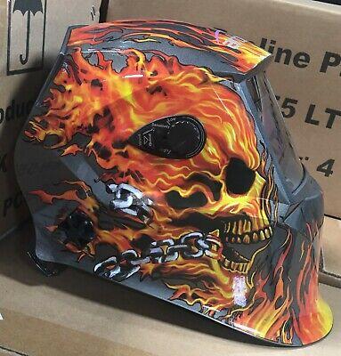Xdh700 4-sensors Auto Darkening Weldinggrinding Helmet Mask Hood True Color