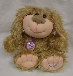 Cabbage-Patch-Kid-CPK-11-Plush-Dog-Doll-Xavier-Roberts