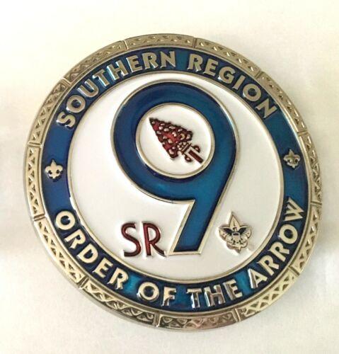 OA SR-9 Belt Buckle (Blue) - Alibamu Aracoma Coosa Egwa Tawa Dee Mowogo Ini-To