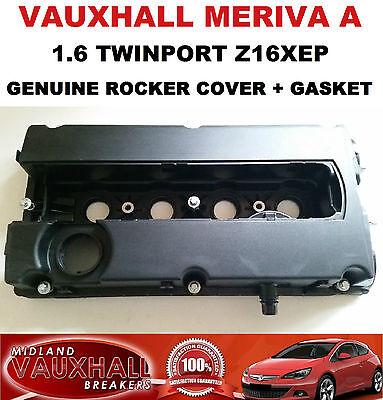 VAUXHALL MERIVA 1.6 TWINPORT Z16XEP CAM ROCKER COVER + GASKET 55556284