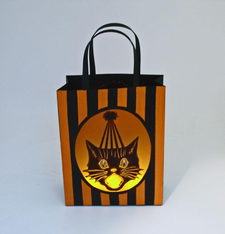 Halloween Decoration Black Cat Lantern