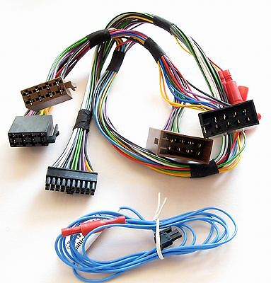 THB Bury CC9060 Music ISO Power & Mute Loom Cable Bluetooth Wiring...