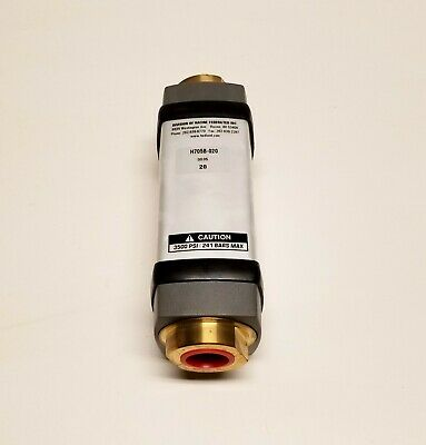 Hedland H705b-020 2 To 20 Gpm 3400psi 34 Variable Area Mechanical Flowmeter