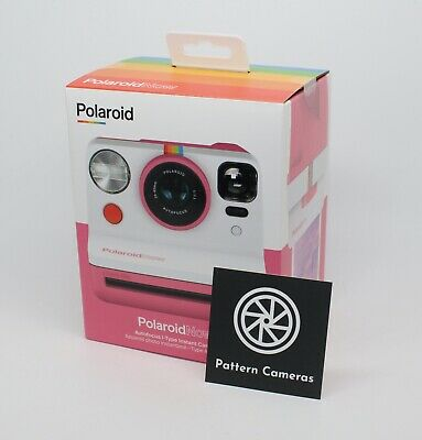 Polaroid Now i‑Type Pink Instant Camera + 2-lens system - Brand new and sealed