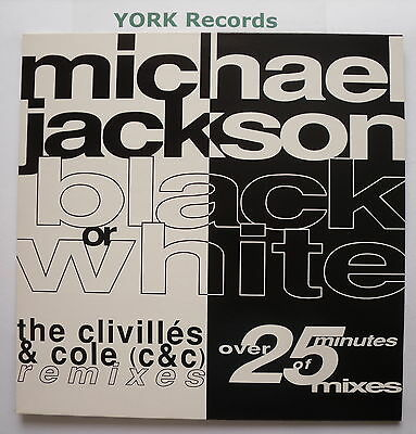 "MICHAEL JACKSON - Black Or White - NEW MINT 12"" Single Epic 657598 8"