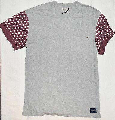 New Just Junkies Hammer Melange T-Shirt Tee in Grey Melange L Large