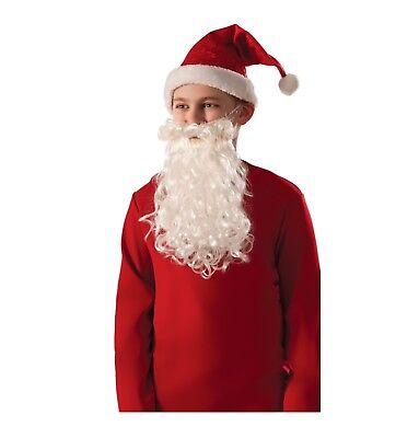 Child Size Christmas Santa Beard & Mustache Costume ](Kids Mustache)