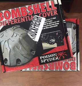 Poison Spyder Bombshell Diff Covers