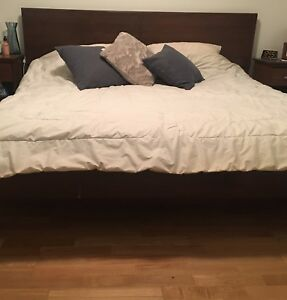King Bed - frame & matress