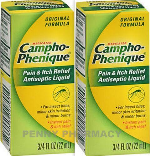 Campho-Phenique Antiseptic Liquid 0.75 oz ( 2 pack )