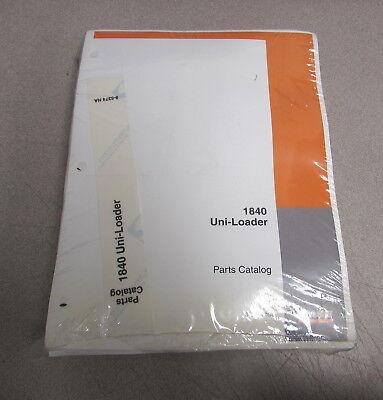Case 1840 Uni-loader Parts Catalog Manual 8-5385 Na 1989