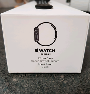 Apple watch series 2, 42mm, Space Gray Aluminum