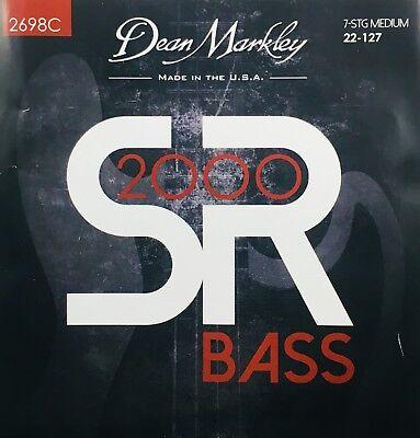 Dean Markley 2698C SR2000 Bass Guitar Strings 7-string set  gauges 22-127 segunda mano  Embacar hacia Mexico