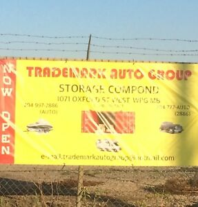Trademark Auto Group Storage Compound