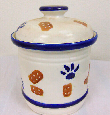 Ceramic Dog Treat Jar - Ceramic Dog Treat Cookie Jar