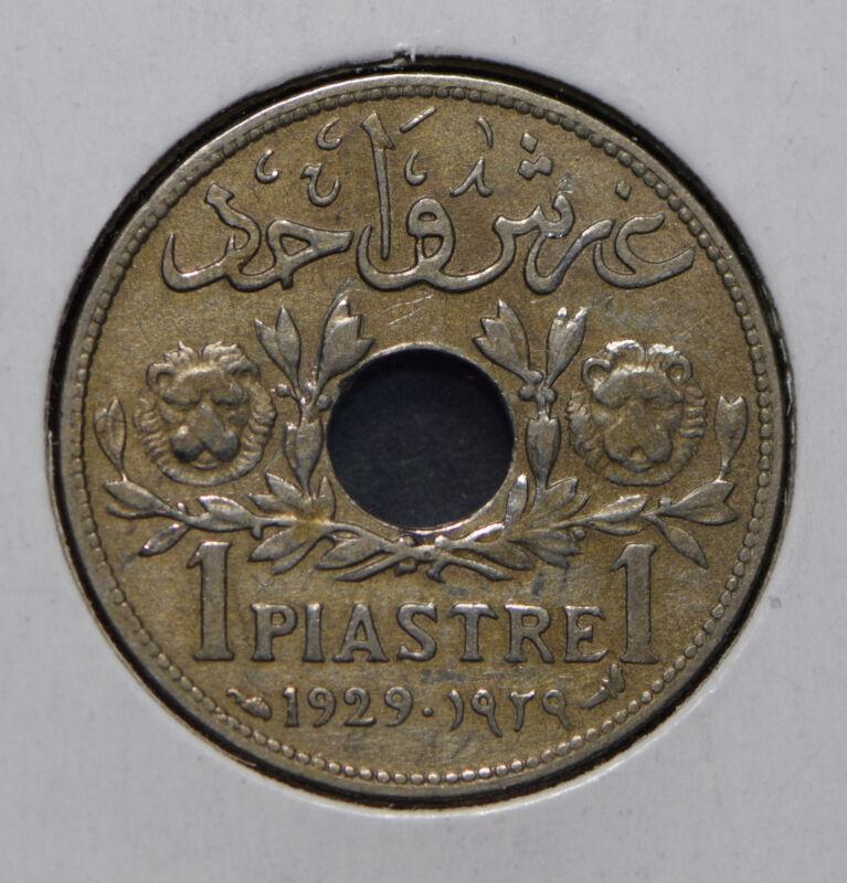 Syria 1929 Piastre  291966 combine shipping