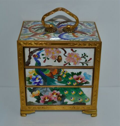 Fine Quality Old or Antique Jewelry Box