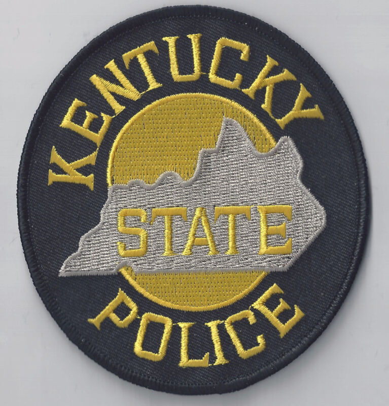 KENTUCKY STATE POLICE - SHOULDER PATCH - IRON OR SEW-ON PATCH