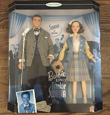 BARBIE LOVES FRANKIE SINATRA NRFB Gift Set Collector Edition NIB 1999  Mattel