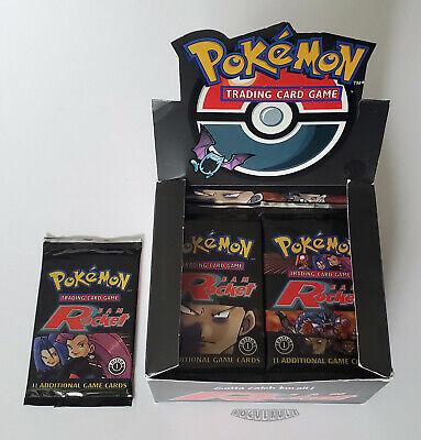Pokemon 1st Edition Team Rocket Booster Pack - Jessie & James - UNWEIGHED