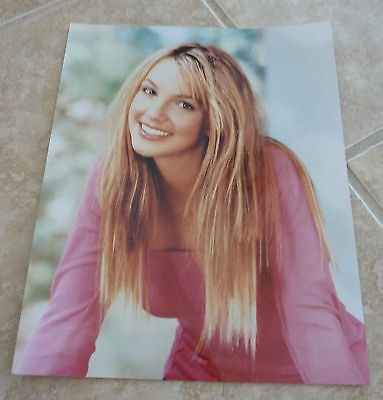 Britney Spears Sexy Color 8x10 Photo Promo #3