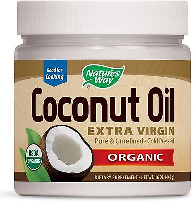 Nature's Way Organic Coconut Oil, Extra Virgin 16 Oz (pac...