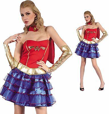 Super Heroes Costume Wonder Woman Supergirl Super heroine Adults Women - Super Heroine Costumes