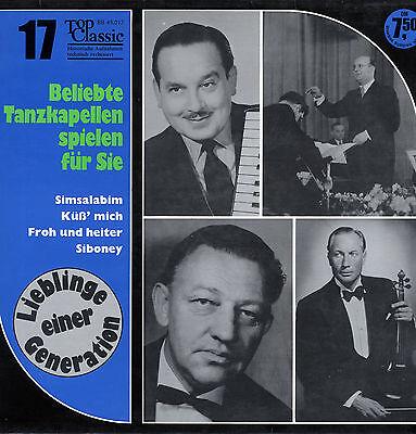 LP  Beliebte Tanzkapellen spielen für Sie - Simsalabim, Küß' mich, Siboney