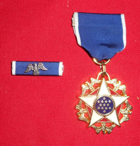 The Presidential Medal of Freedom - MEDAL AND RIBBON BAR