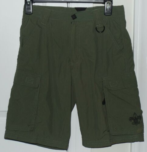 BSA BOY SCOUTS OF AMERICA CENTENNIAL UNIFORM SHORTS YOUTH XLARGE XL