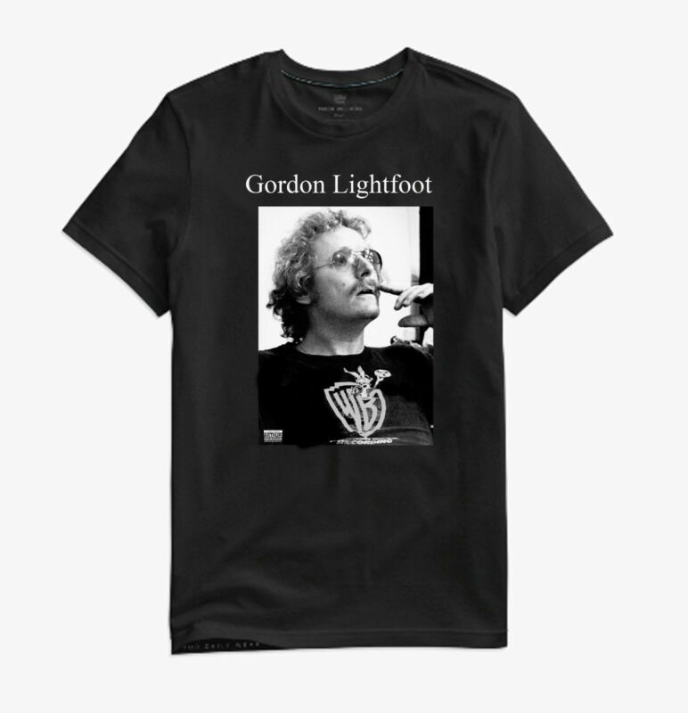 Gordon Lightfoot - 1974- collectible - photo t-shirt