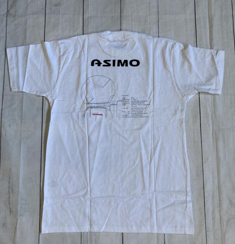 Honda Asimo Robot 2000 Promotional Large T-shirt Japan RARE Anime New In Bag