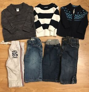 6-12mos Boys Sweaters & Pants