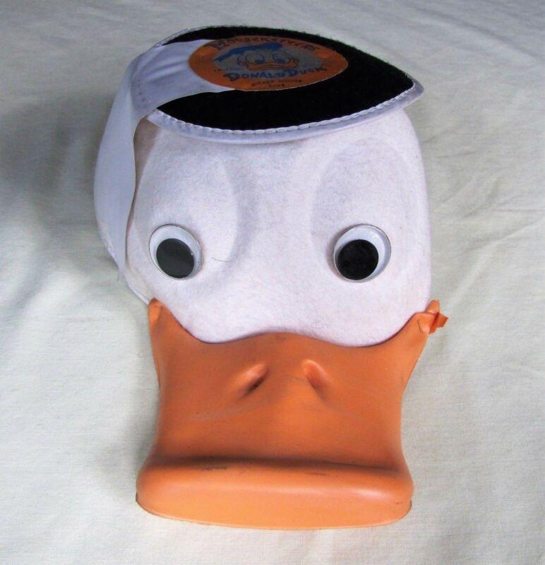 Mickey Mouse Club, Original Mouseketeer Donald Duck Cap, Benay-Albee Novelty Co.