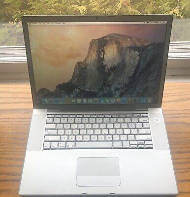 Apple Macbook Pro 3,1 500gb HD 4gb of Ram FREE SHIPPING