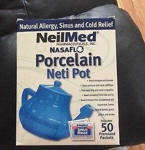 Porcelain Neti Pot (Brand New, Never Used)