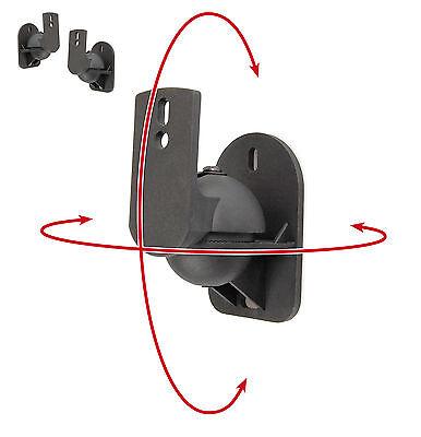 Boxen Halter, Lautsprecher Wandhalterung, 2 Stück von Dynavox