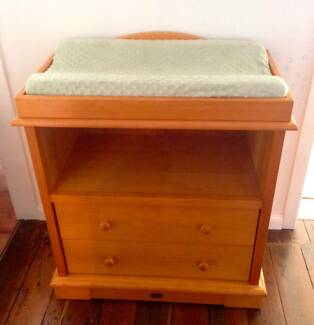 Boori Country Collection 2 Drawer Change Table Merewether Newcastle Area Preview