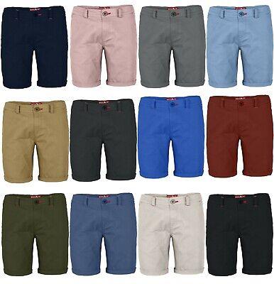 Shorts Slim Fit Bermuda Kurze Hose Strecken-Baumwolle (Plus Größe Erwachsene)