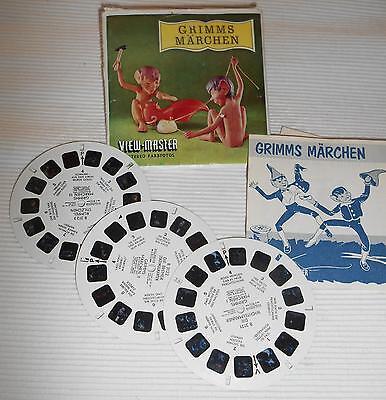 View Master- Päckchen-3 Scheiben Grimms Märchen